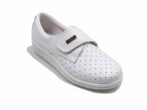 Zapato piel anatómico antideslizante
