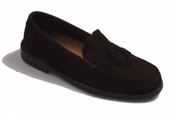 zapato borlas 1261 marrón