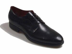 Oxford picado negro 8004
